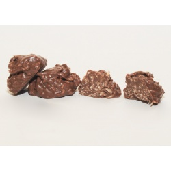 Sugar Free Milk Chocolate Coconut Clusters